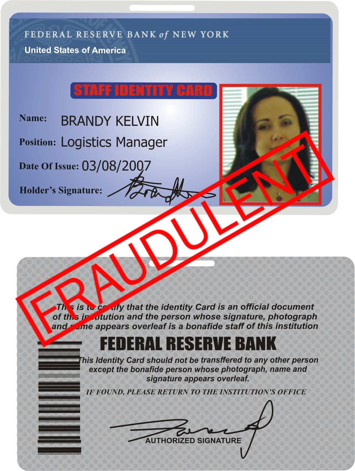 The Involving Scams Name Reserve Bank - York New Federal Of