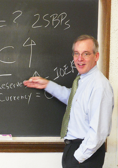 President Dudley guest lectures at Cornell University