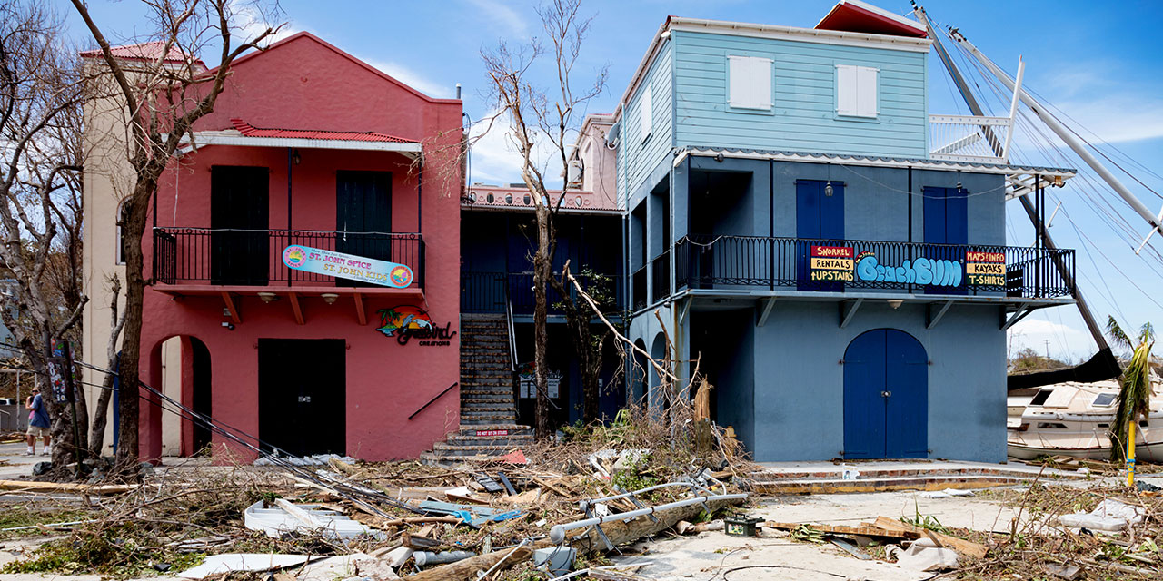 U.S. Virgin Islands' Economy Hit Hard by Irma and Maria