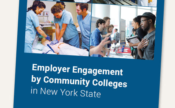 Report cover of Employer Engagement by Community Colleges in New York State