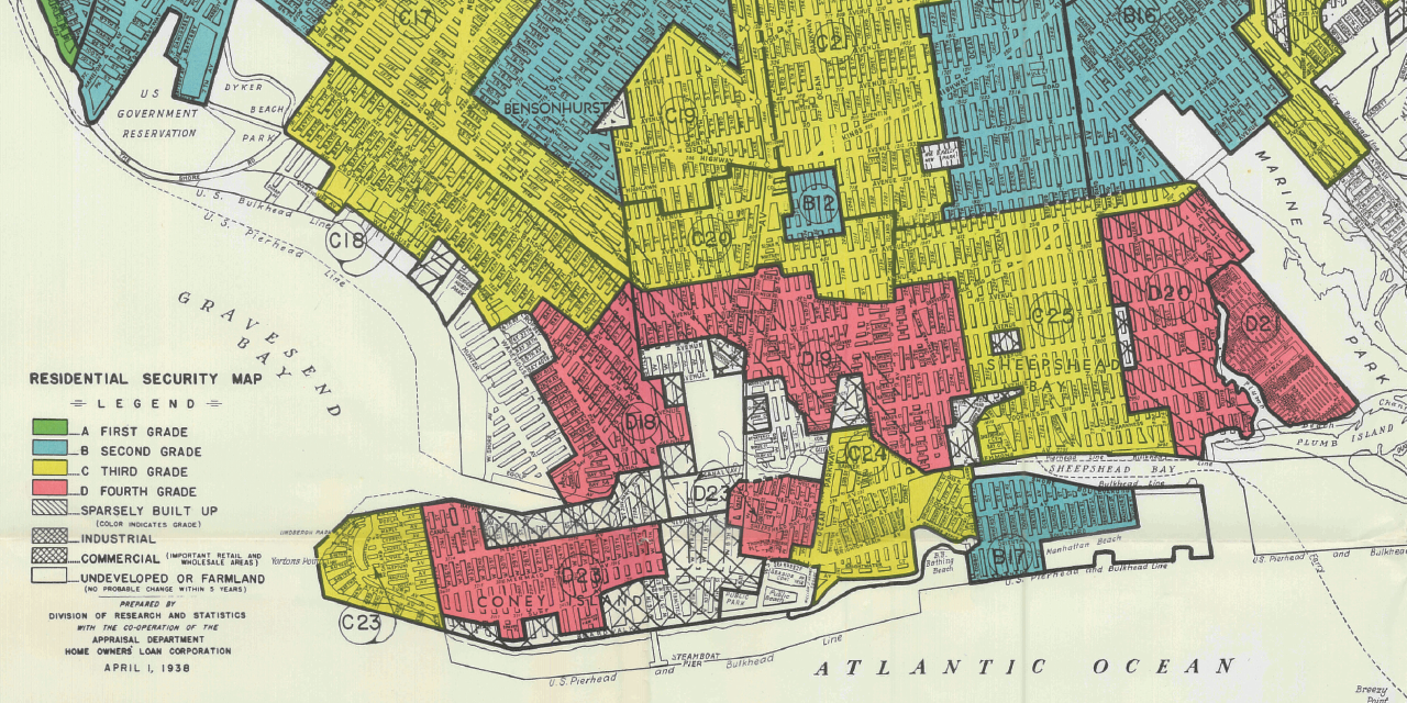 How Does Where You Live Influence How You Live A Lesson Plan on Redlining
