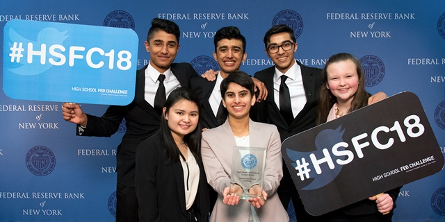 2018 High School Fed Challenge Maiden Lane Winners