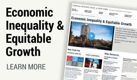 Economic Inequality & Equitable Growth, learn more