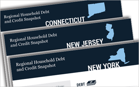 Regional Household Debt and Credit Snapshots