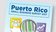 Cover of Puerto Rico Small Business Survey 2017 report