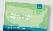 Cover of 2016 Small Business Credit Survey: Report on Startup Firms