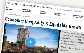Economic Inequality & Equitable Growth