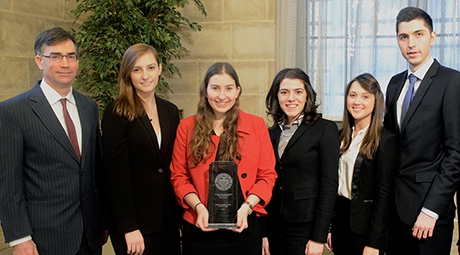 2014 College Fed Challege Winner:  Pace University