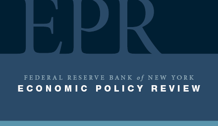 Economic Policy Review cover image