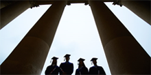 Research Topic in Focus: Is College Worth it image of college grads